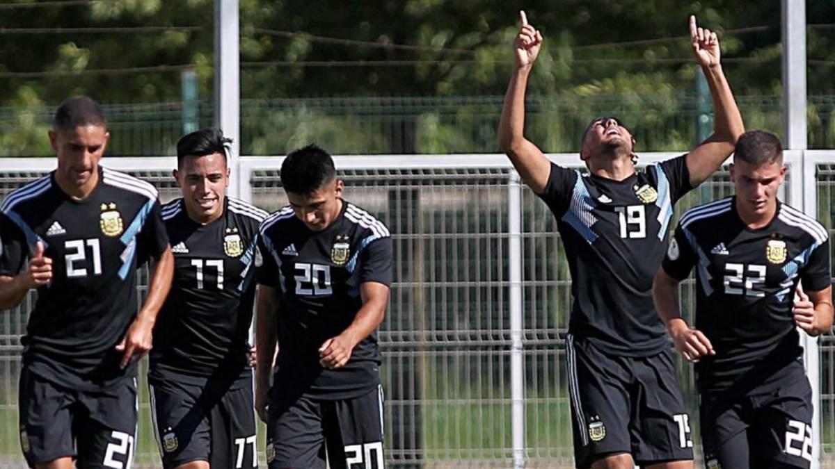 Formacion De Argentina Hoy Por El Sudamericano Sub 20 Contra Ecuador As Argentina