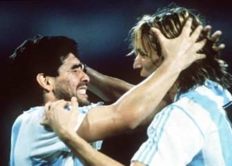 Caniggia pueder ser ayudante de Maradona en Gimnasia