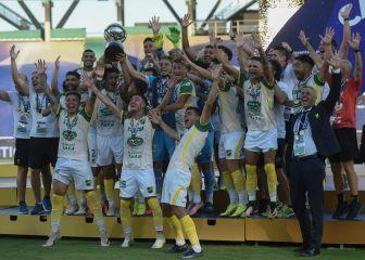 Defensa y Justicia hizo historia y gana su primer título internacional al vencer a Lanús