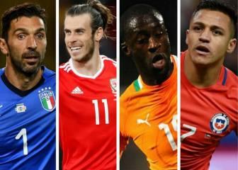 Las grandes ausencias del próximo Mundial de Rusia