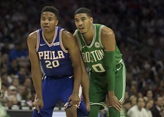 """Boston se estrena ante Embiid: """"No me siento un jugador NBA"""""""
