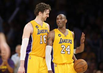 "Pau: ""Gracias, Kobe, por todo lo que has aportado a este deporte"""