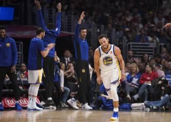 El son de Stephen Curry: 45 puntos en tan solo tres cuartos