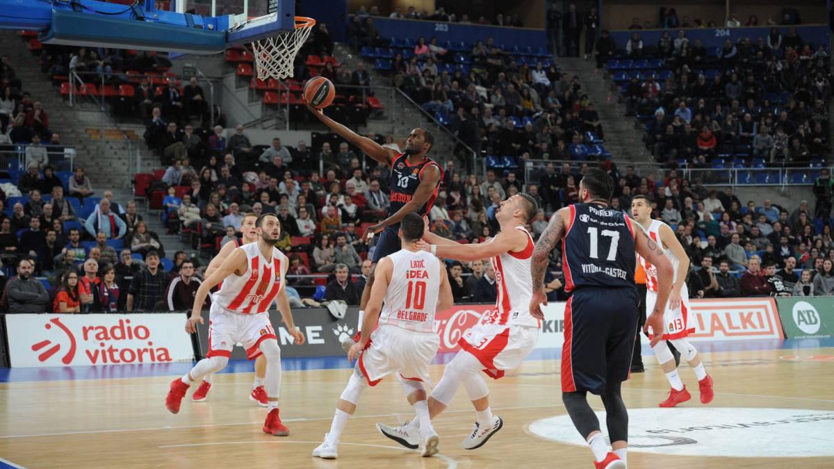 Baloncesto el baskonia arrasa y sigue en la carrera por for Euroliga cuartos de final