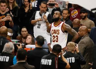 """LeBron James para la 'locura Warriors': """"No tiene sentido"""""""