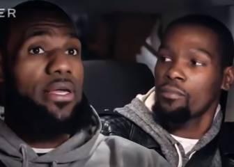 La charla entre LeBron James y Kevin Durant en la que critican a Donald Trump