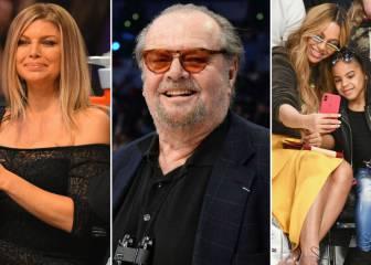 Beyonce, Nicholson, Fergie... la otra fiesta del All Star Game