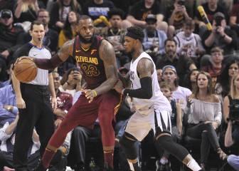 Los Cavs despiertan: 11º triple-doble para LeBron James