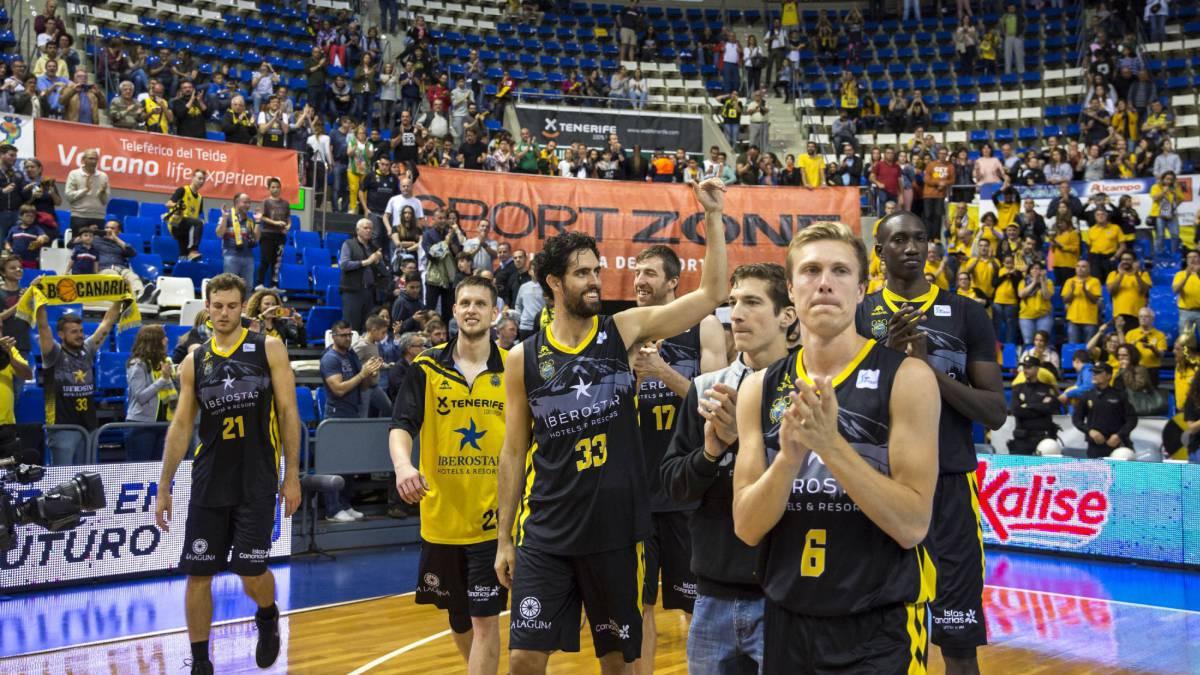 El Iberostar Tenerife, a un paso del playoff de la Liga Endesa