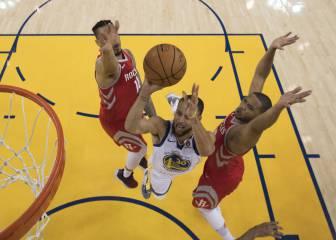 ¡Warriors! El mejor Curry (35) lidera una paliza para la historia