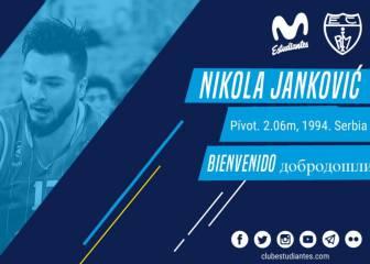 El Estudiantes ficha al pívot serbio Nikola Jankovic
