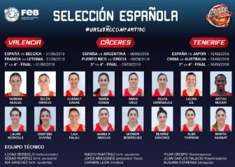 Ya se conoce la preselección de España para el Mundial 2018
