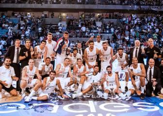 El Real Madrid campeón de la Supercopa ACB 2018