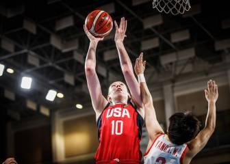 Estados Unidos gana a China; Han Xu se presenta a la WNBA
