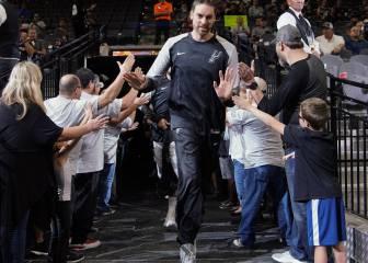 Leyenda Gasol: 18 temporadas y ¡cuarto más veterano de la NBA!