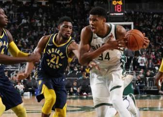 Resúmenes y resultados de la NBA: Giannis, a ritmo de récord