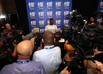 ¿Cómo quedó la lotería del Draft NBA? Orden de los picks