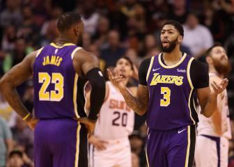 Kuzma salva a los Lakers ante los Suns de un gran Ricky (21+10)