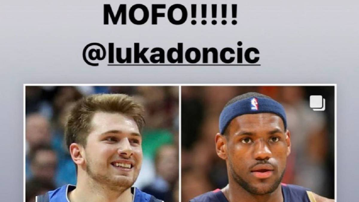 """LeBron-after-Doncic's-record:-""""I-told-you-he-was-a-son-of-p-**-a"""""""