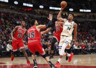 Resúmenes y resultados de la NBA: Giannis cierra 2019 con récord