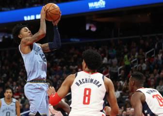 Resúmenes y resultados NBA: Morant, primer triple-doble de su carrera; Young, 48 puntos