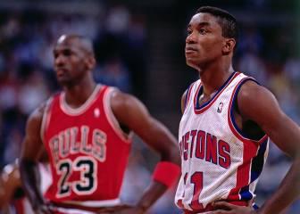 """Isiah: """"Michael Jordan no era un rival para mí en los años 80"""""""