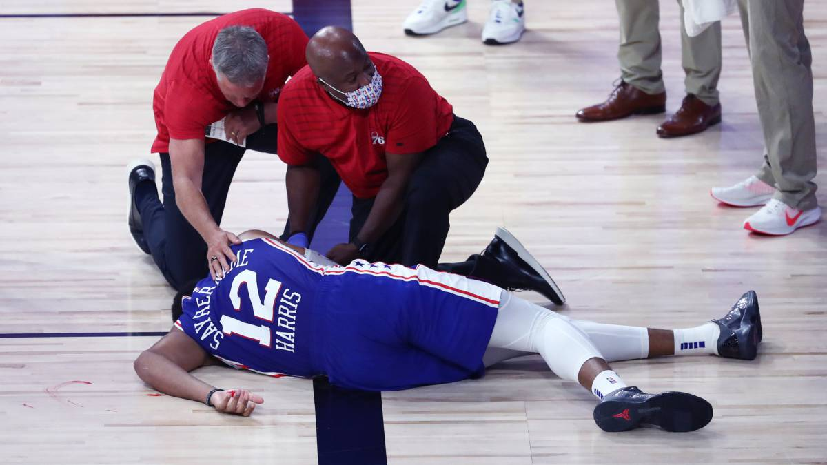 Harris's-scare-chills-Sixers-who-say-goodbye
