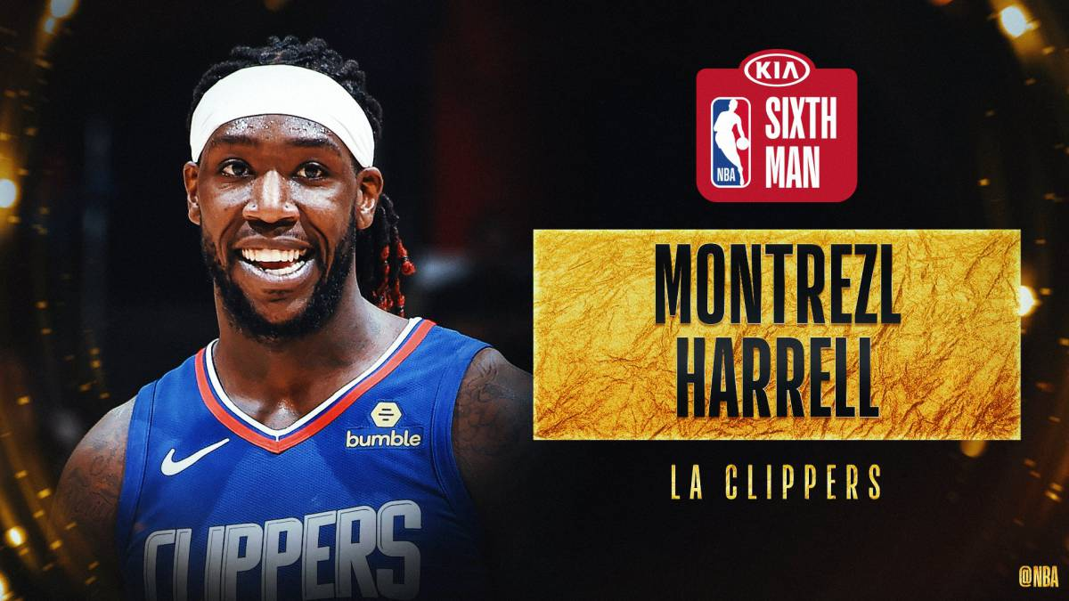 Montrezl-Harrell-Sixth-Man-of-the-Year:-Again-to-the-Clippers
