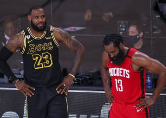 Rockets - Lakers, en directo: Playoffs NBA 2020, en vivo 1