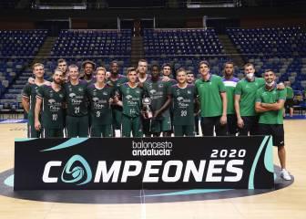 El Unicaja abrasa a triples al Betis y se corona campeón de Andalucía