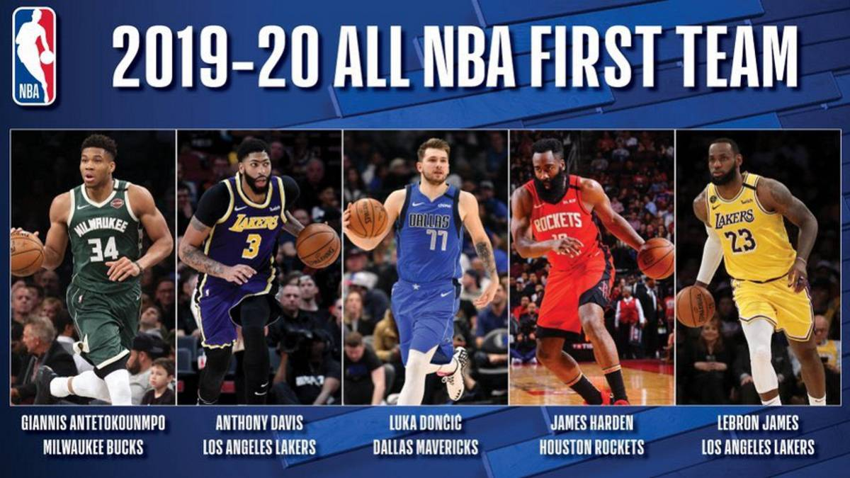 Historic-Doncic:-chosen-in-the-best-quintet-of-the-season