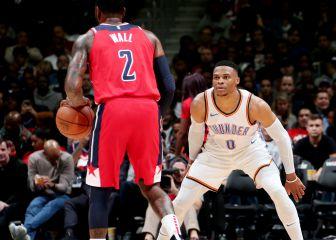 Westbrook, traspasado a los Wizards a cambio de John Wall