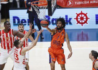 El Valencia Basket tumba al son de Labeyrie al Estrella Roja