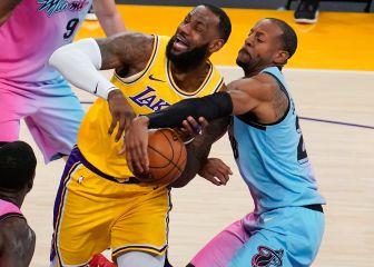 Los Heat se toman una anodina revancha en casa de los Lakers