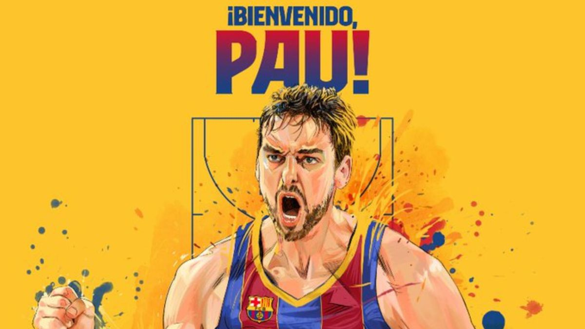 """Pau-Gasol-signs-for-Barça:-""""Very-happy-to-come-home"""""""