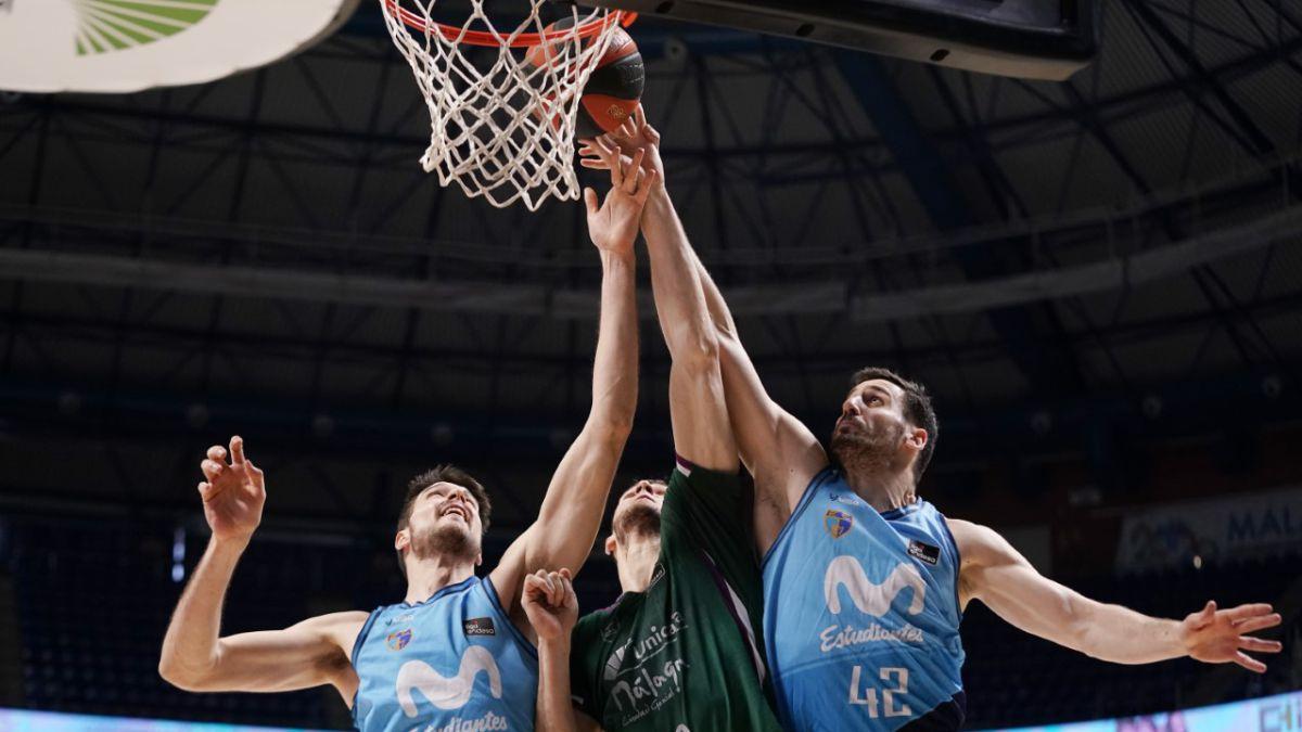 Unicaja-based-on-triples-bitter-Cuspinera's-debut-at-Estudiantes