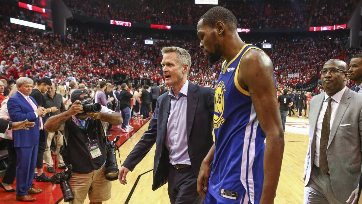 """Steve-Kerr:-""""Durant-is-the-most-talented-player-in-the-world-...-or-in-history"""""""