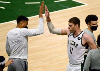 Brook 'Anteto' Lopez deja a los Bucks a las puertas de la final