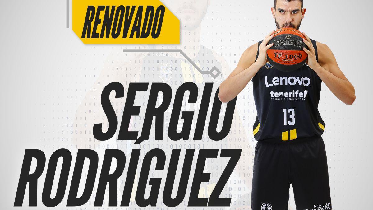 Sergio-Rodríguez-renews-with-Lenovo-Tenerife-until-2023