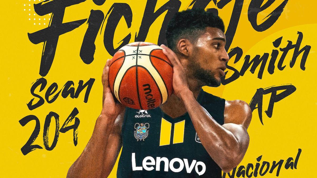 Lenovo-Tenerife-sign-power-forward-Sean-Smith