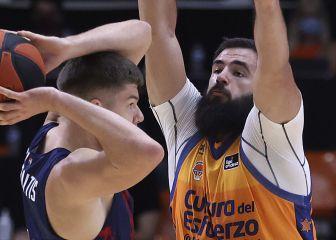 El Baskonia se impone al Valencia Basket en el final