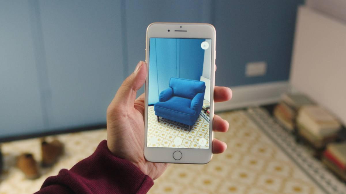 ikea place una app para decorar tu casa en realidad aumentada. Black Bedroom Furniture Sets. Home Design Ideas