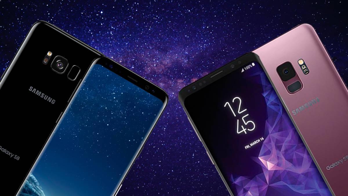 Comparativa Prestaciones Samsung Galaxy S8 Y S9