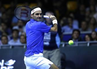 Federer da una exhibición de lujo y se va de Chile como rey