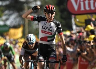 """Dan Martin pudo con Valverde y Dumoulin se deja 50"""""""
