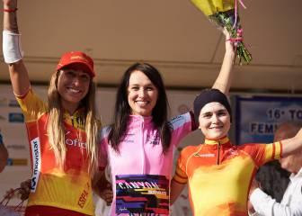 Mavi García y Merino se suben al podio del Tour de Ardeche