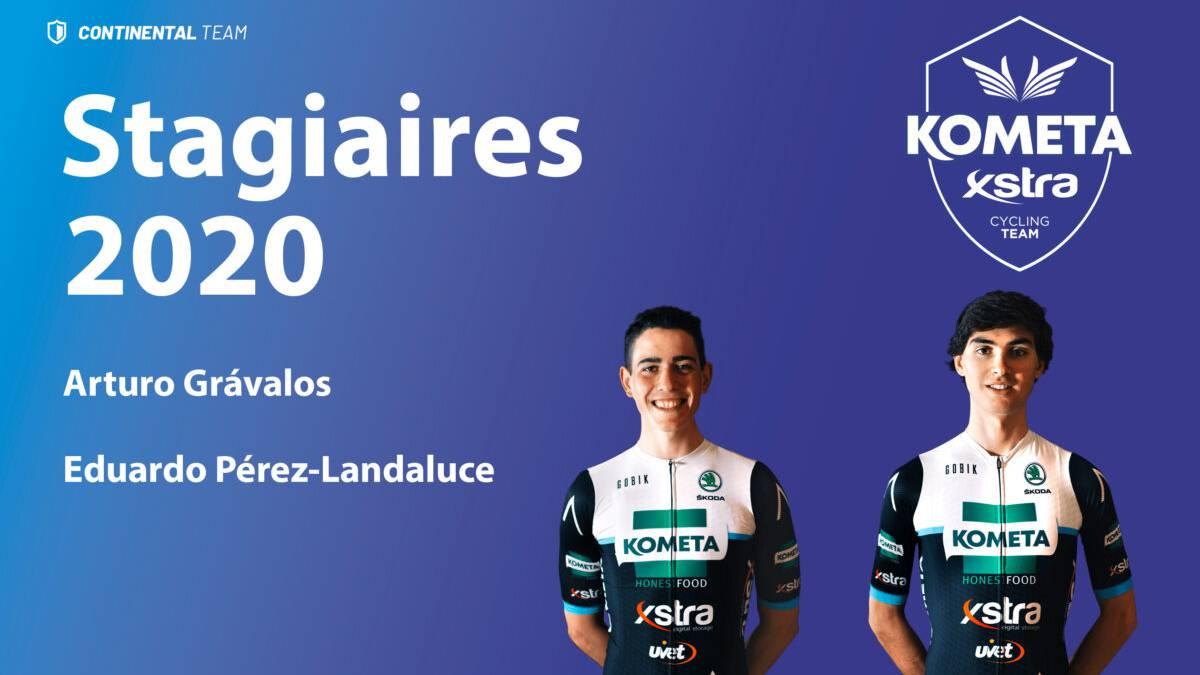 Arturo-Grávalos-and-Eduardo-Pérez-Landaluce-new-stagiaires-of-the-Kometa-Xstra