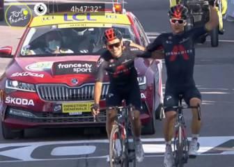 Tour de Francia | Ineos gana a pares 1
