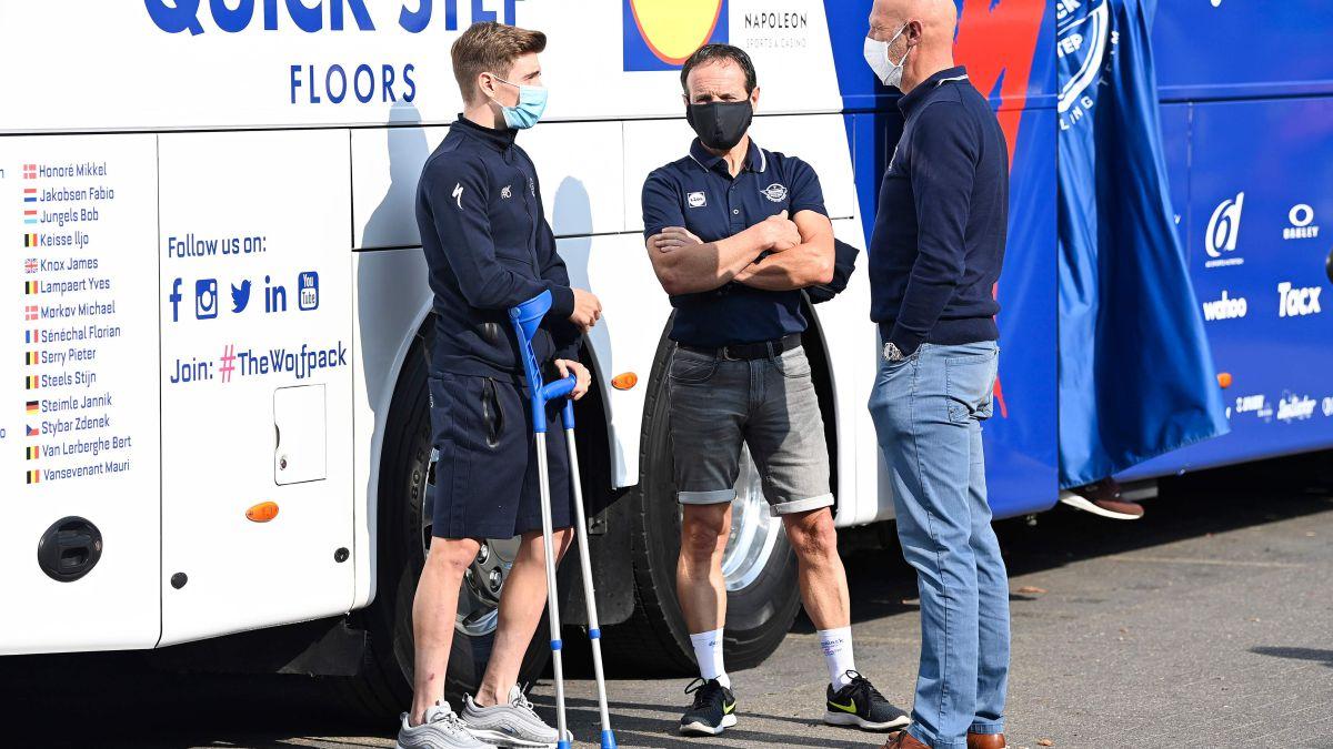 Brake-to-Evenepoel's-recovery:-the-Giro-in-doubt