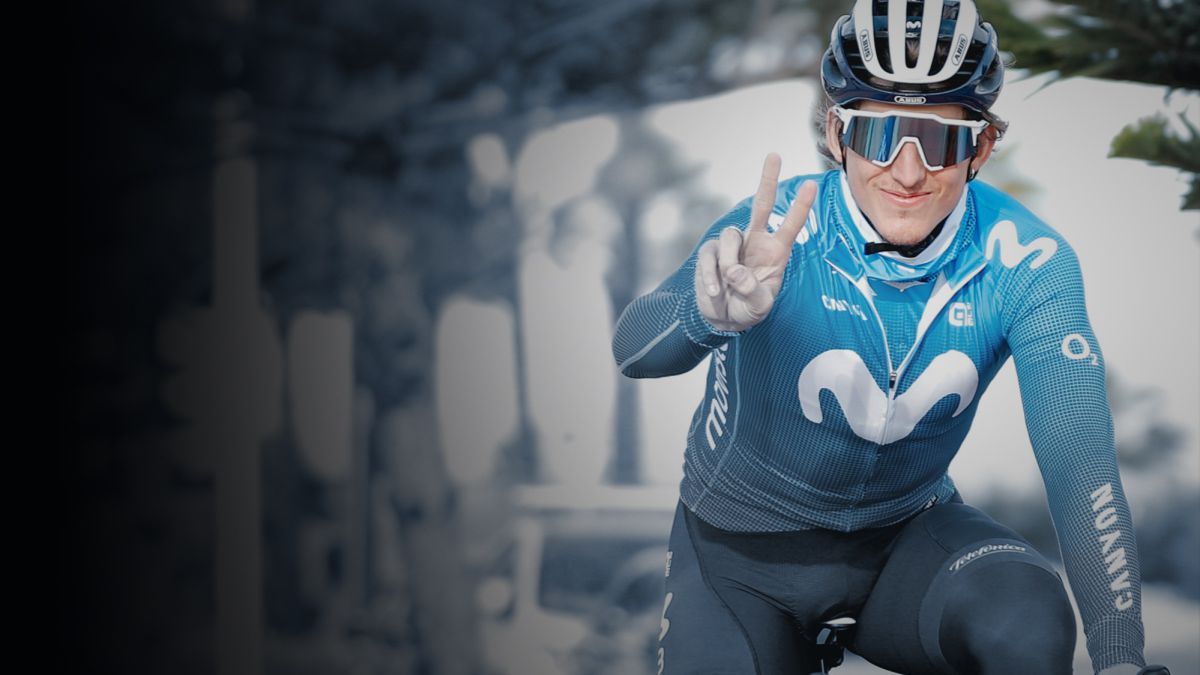 Cortina-in-command-of-Movistar-in-Through-Flanders